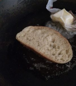 butter parm bread