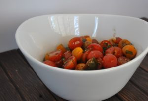 herb marinated tomatoes