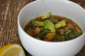 no recipe vegetable soup