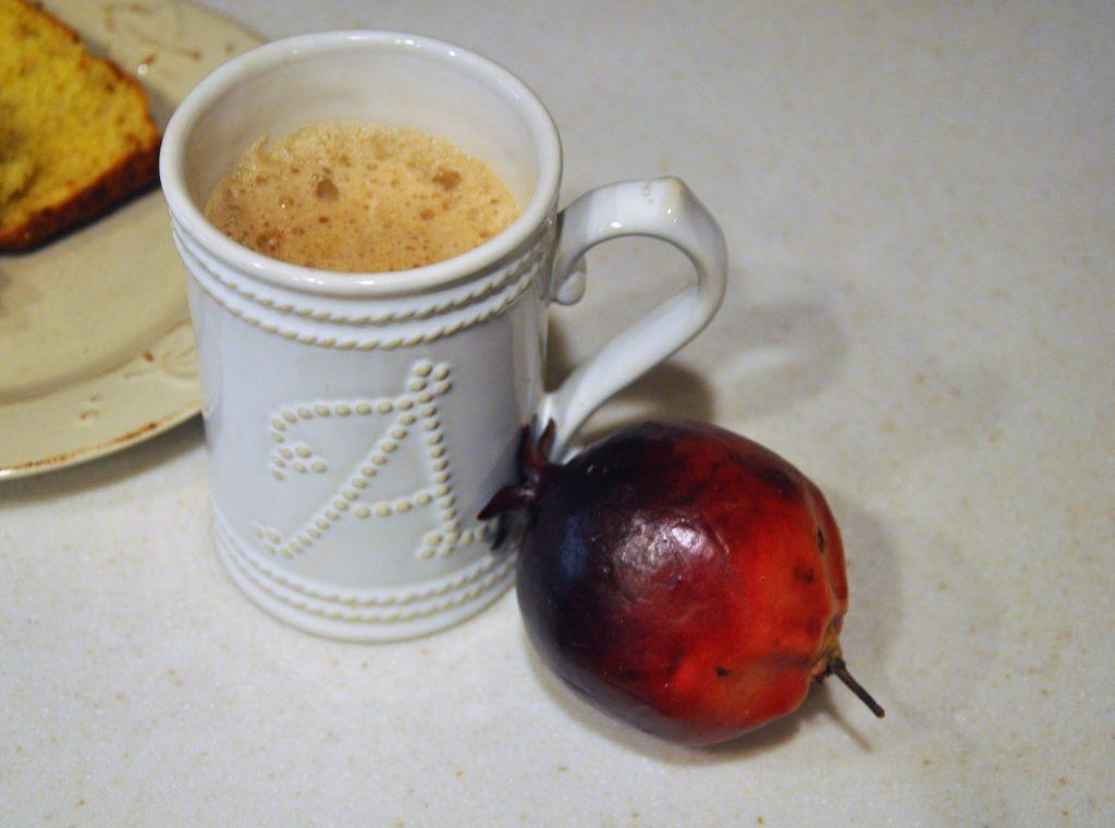 Pomegranate Mocha