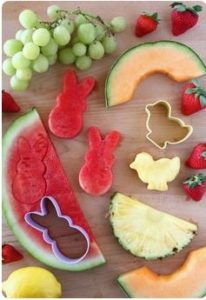 Easter Shaped Fruit