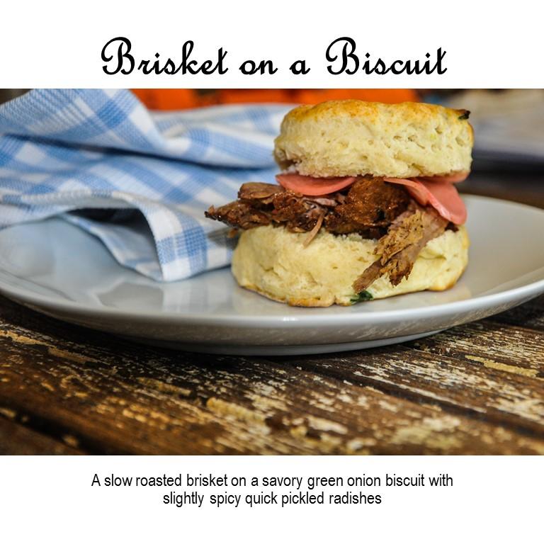 Brisket on a Biscuit - DailyRation.net