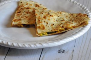 sunrise breakfast quesadilla