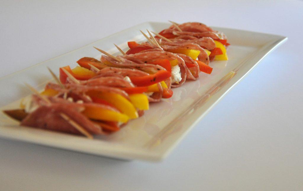 lemon pepper salami bites from DailyRation.net