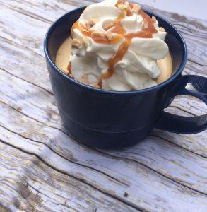 bourbon butterscotch latte mousse