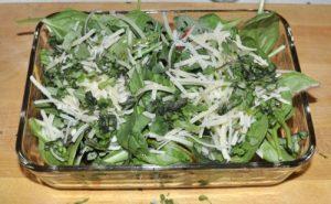 twice roasted salad
