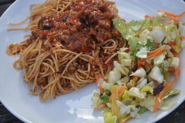 hearty spaghetti or pasta sauce