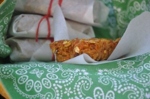 apple carrot snack bars