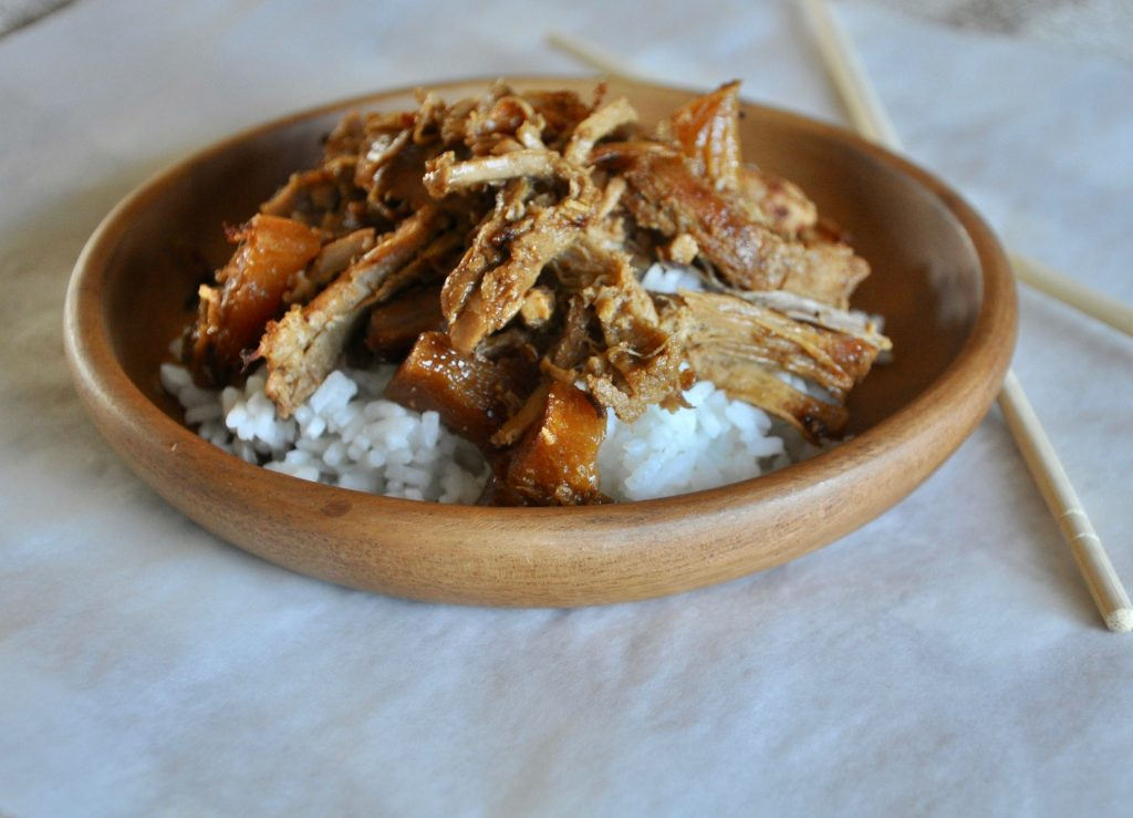 Pineapple Pork over rice