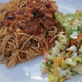 hearty spaghetti or pasta sauce