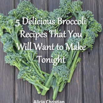 broccoli mini ebook recipes freebie